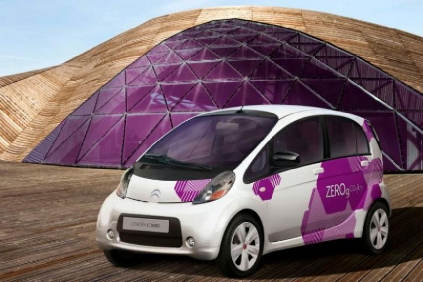 Citroën fabricará el C-Zero, su primer vehículo electrico.