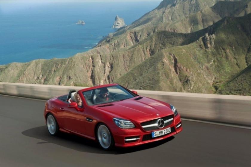 Comienza en España la comercialización del nuevo SLK de Mercedes- Benz