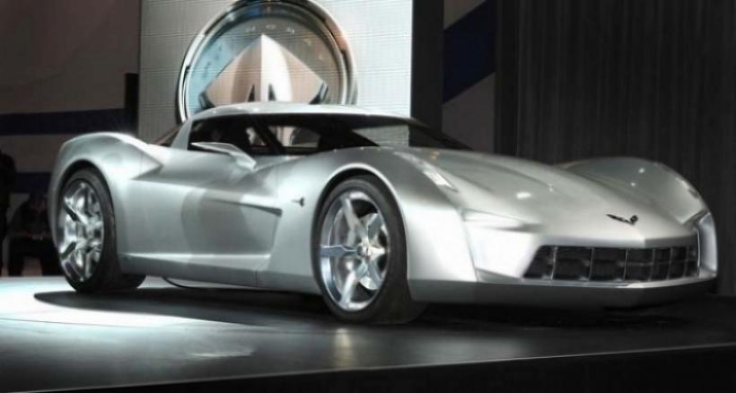 Corvette Stingray Speedster Concept cazado en Beverly Hills.