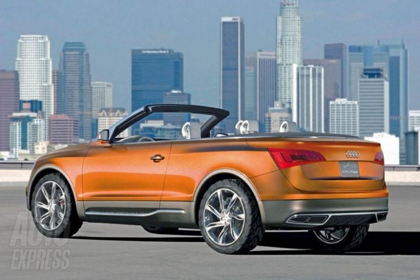 Crecen los rumores sobre un Audi Q5 Cabriolet
