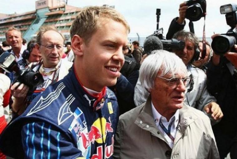 Ecclestone ve a Vettel como favorito para el título en 2010