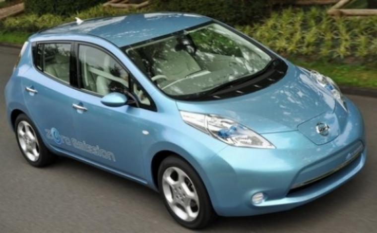 EE.UU. elige al nuevo Nissan Leaf para su proyecto eléctrico.