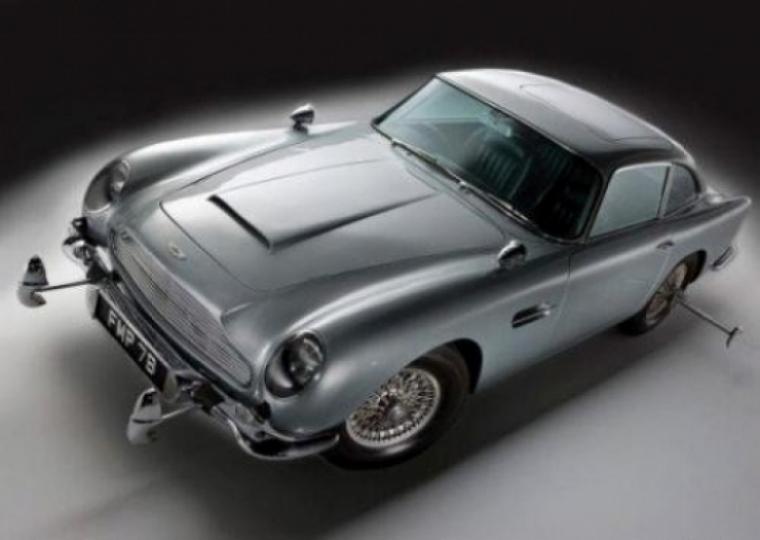 El Aston Martin de James Bond a subasta