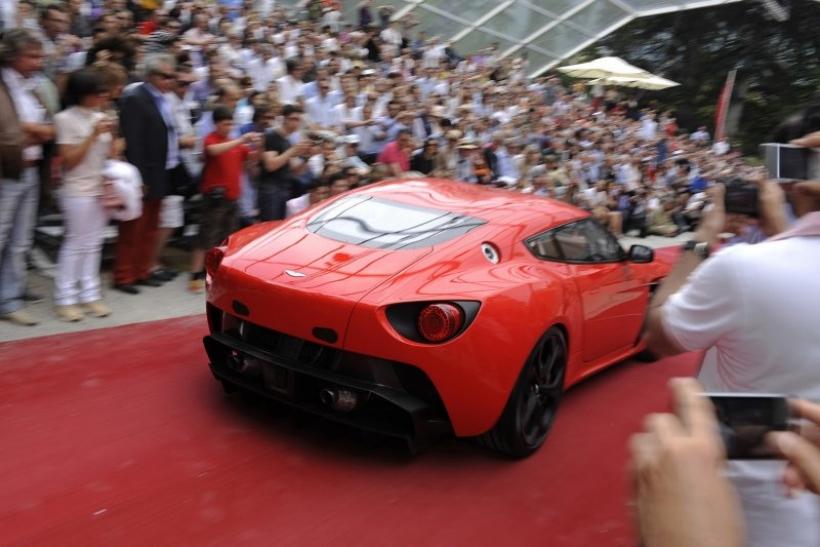 El Aston Martin V12 Zagato es el ganador del Concurso de Elegancia de Villa D´Este