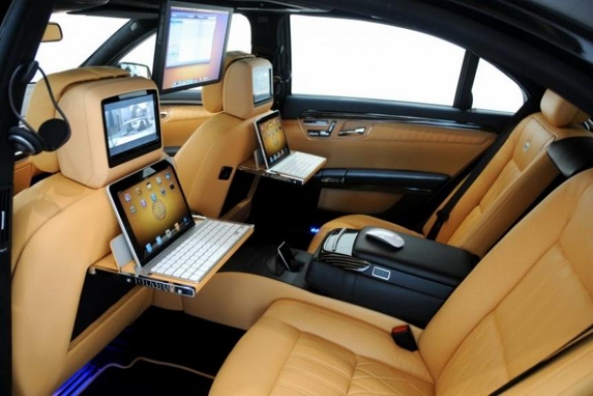 El Brabus SV12 R Biturbo 800 se proclama el sedán más poderoso del mundo