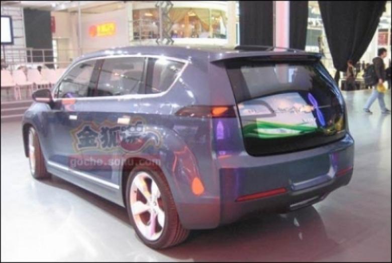 El Chevrolet Volt MPV debuta en el Salón de Beijing.