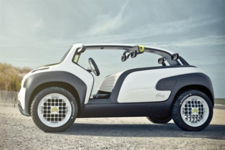 El Citroën Lacoste Concept debutará en el Salón de París.