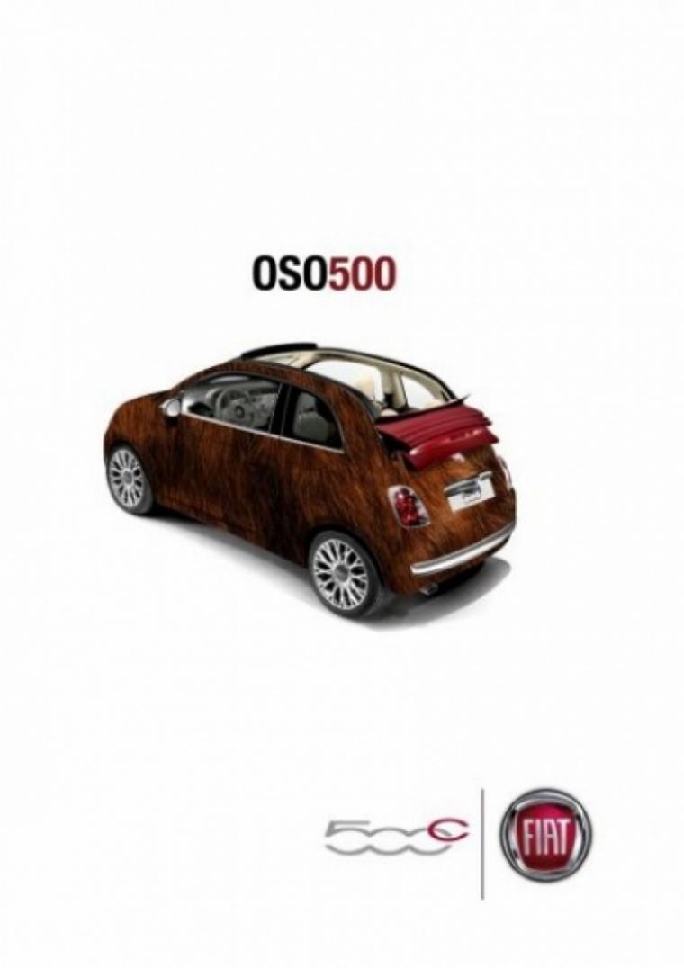El Fiat 500, ofrece nuevas versiones en la Marcha del Orgullo 2010.