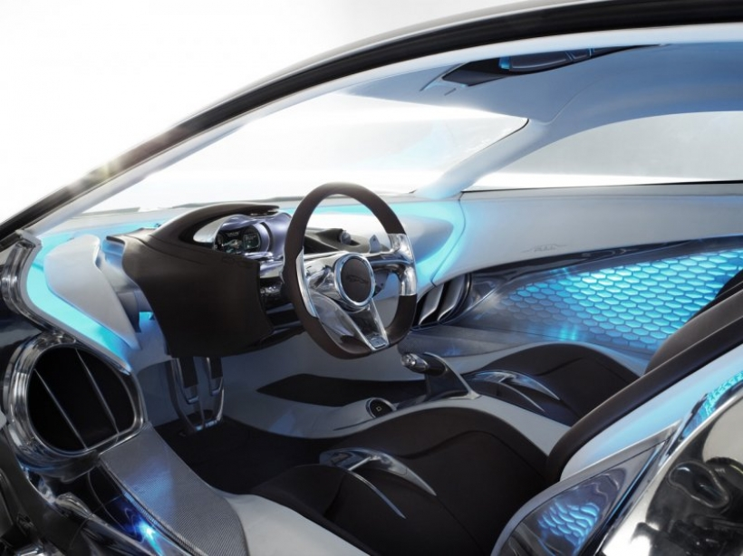 El Jaguar C-X75 se expondrá en Madrid