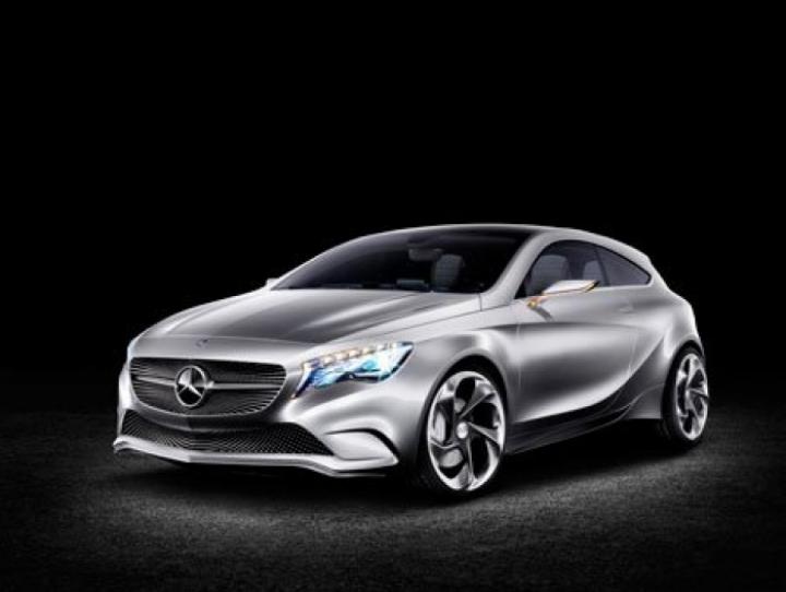 El Mercedes Clase A concept muestra el diseño final del modelo de producción