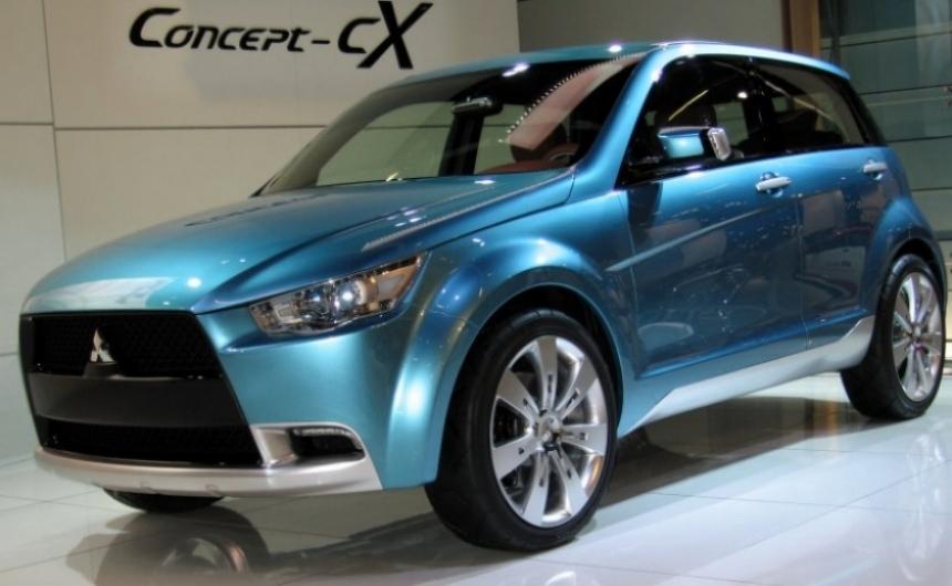 El nuevo crossover de Mitsubishi llegará en 2010