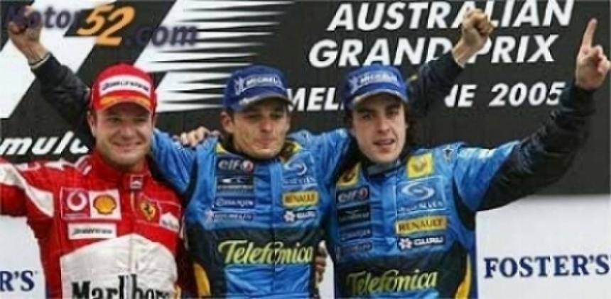 El objetivo de Alonso es el podio