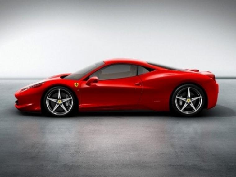 El sitio web de Ferrari colapsa debido al Ferrari 458 Italia