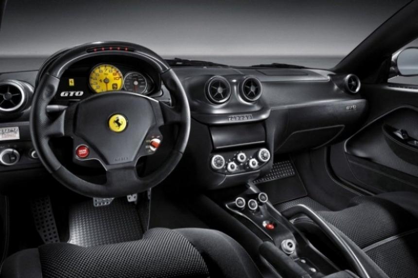 Ferrari 599 GTO, primeras  imágenes oficiales