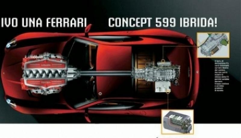 Ferrari 599 híbrido en el Salón de Ginebra