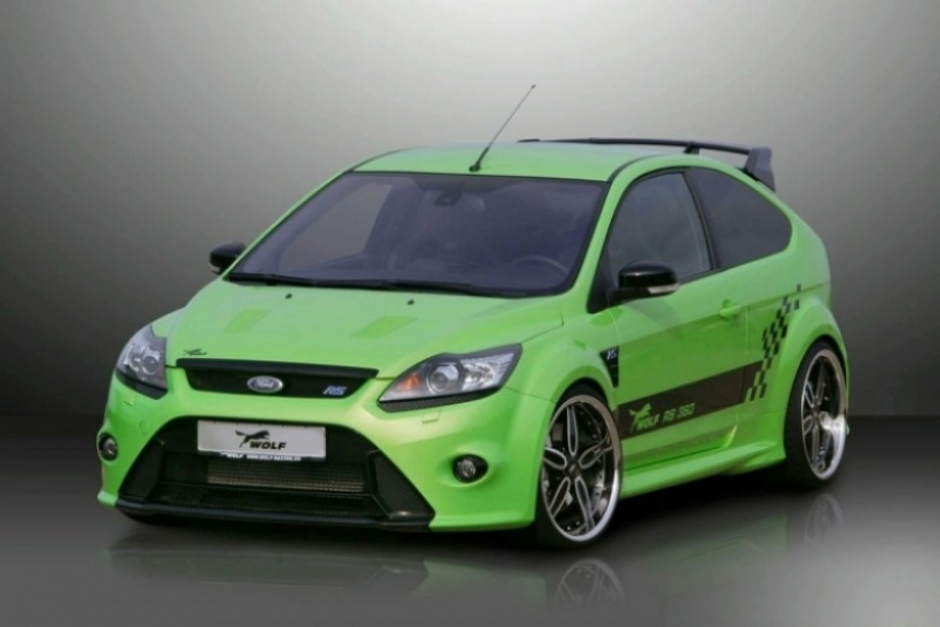 Focus RS de 360 CV preparado por Wolf Racing.