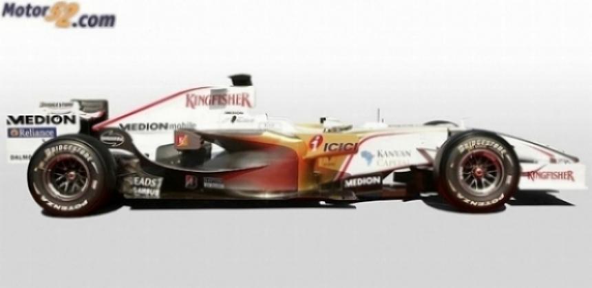 Force India presentará el domingo su nuevo monoplaza 2009