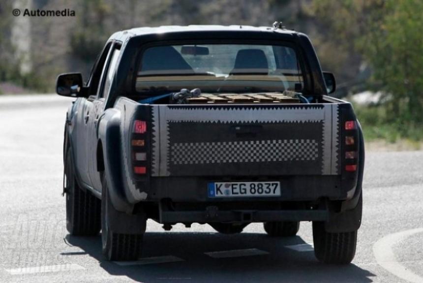 Ford prepara la nueva Ranger 2012.