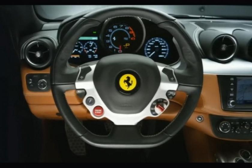 Fotos de la presentación de la Ferrari FF en Maranello