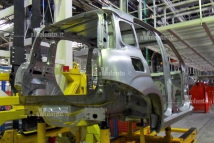 Fotos espía del chasis del Fiat Panda 2012