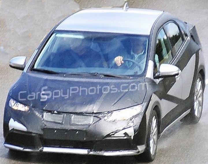 Fotos espía del Honda Civic 2012