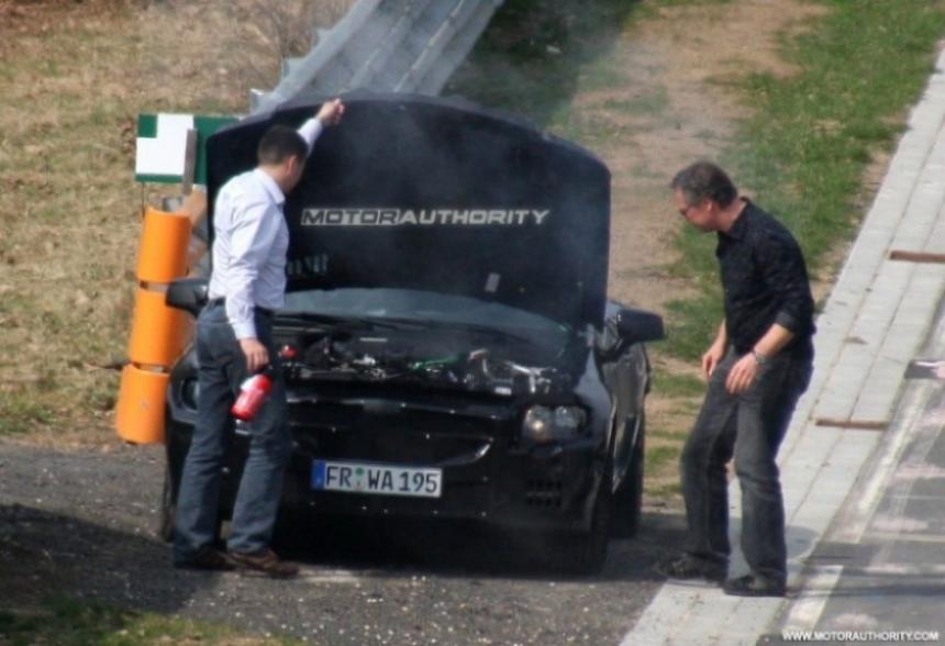 Fotos espía del  Mercedes-Benz SLK