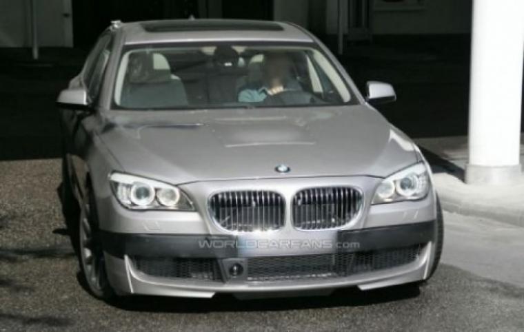 Fotos espías de un nuevo BMW M7