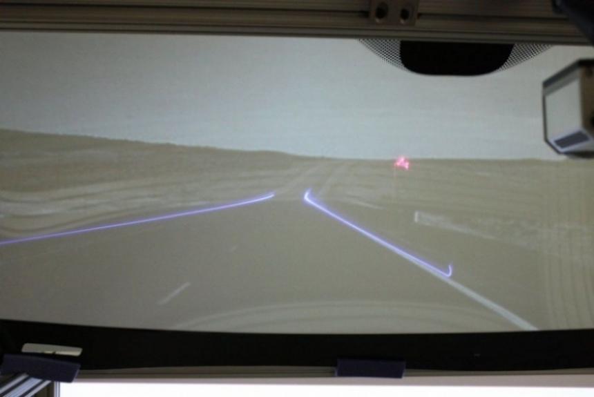 General Motors desarrolla una nueva versión del HUD.