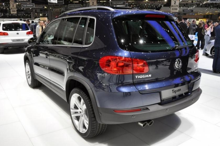 Ginebra 2011. Nuevo Volkswagen Tiguan