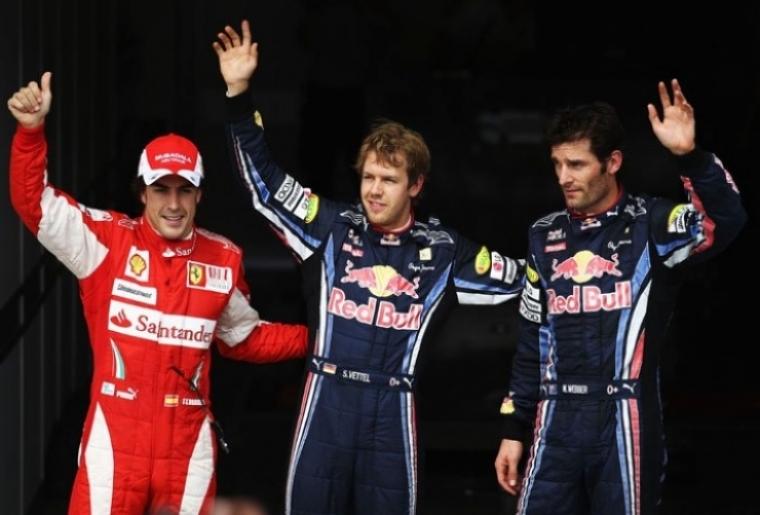 GP Corea, pole para Vettel, con Alonso tercero