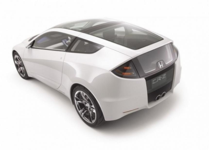 Honda prepara un deportivo híbrido basado en CR-Z concept.