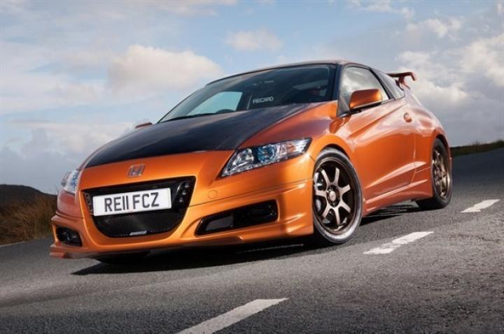 Honda presenta las primeras imágenes del CR-Z Mugen