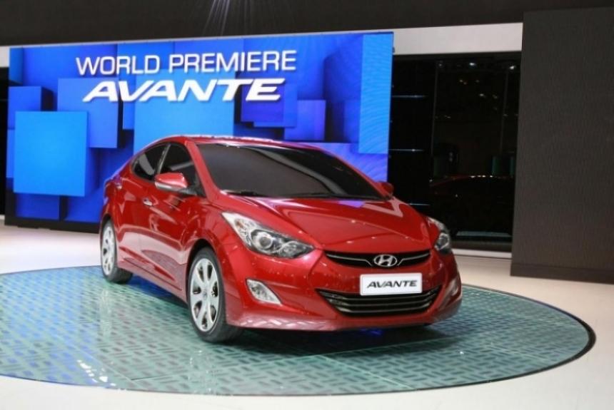 Hyundai Elantra 2011 presentado