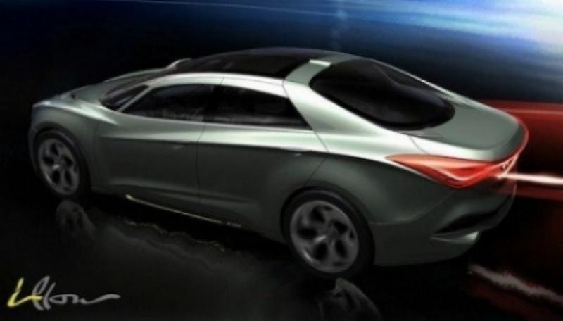 Hyundai estrenó el i45 (Sonata 2011) en Australia.