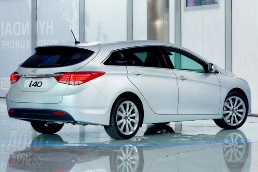Hyundai revela las primeras imágenes oficiales del i40
