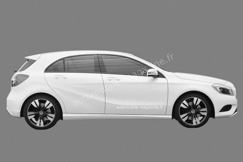 Imágenes filtradas del Mercedes Clase A 2012