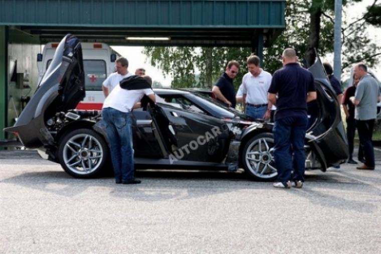 Imágenes reales y en directo del nuevo Lancia Stratos.