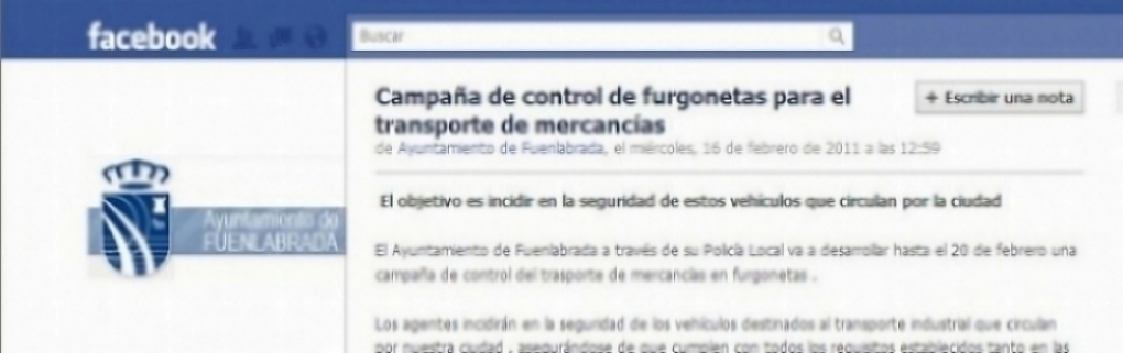 Iniciativas en Facebook para favorecer a usuarios y vehículos