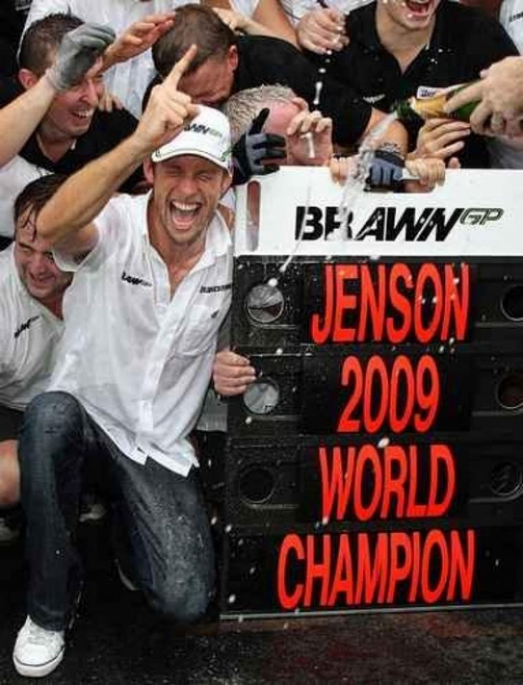 Jenson Button percibió poco dinero en  Brawn GP