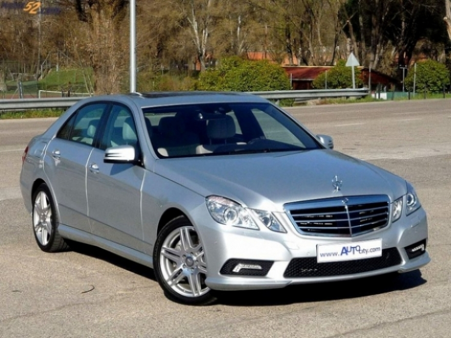 La nueva clase e de mercedes benz for Mercedes benz louisiana