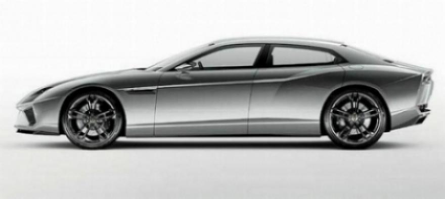 Lamborghini coquetea una vez más con producir un modelo cuatro puertas