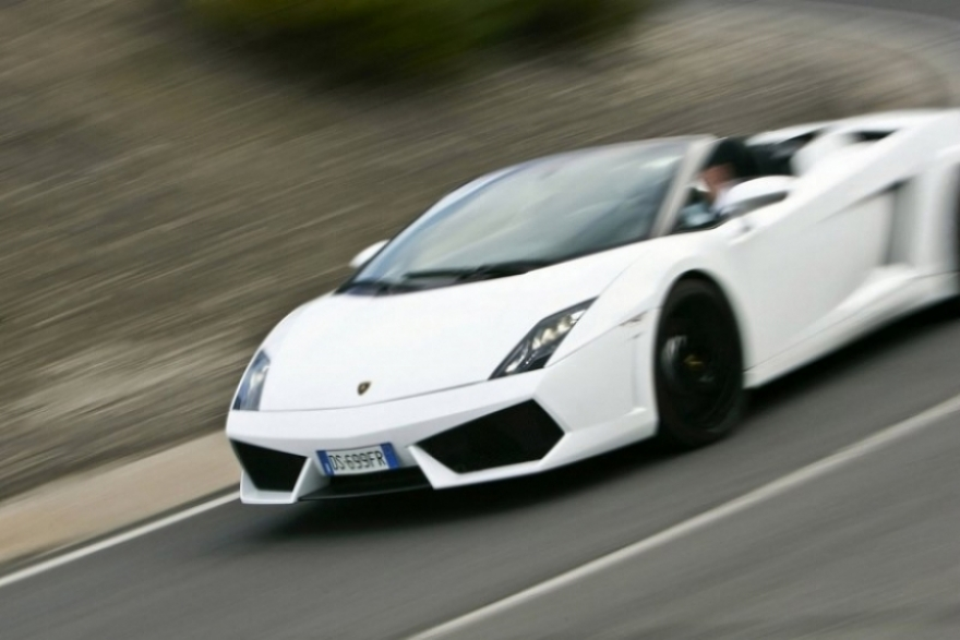 Lamborghini Gallardo LP560-4 Spyder en imágenes