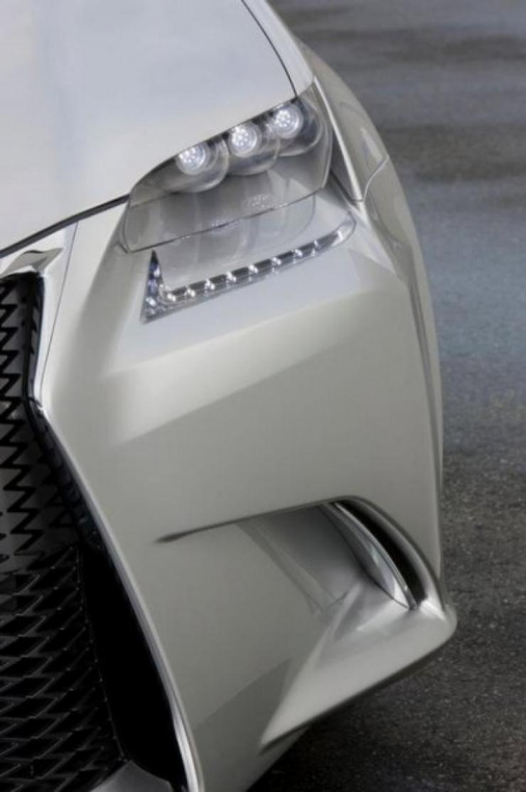 Lexus muestra los teasers de su concept LF-Gh, el futuro GS