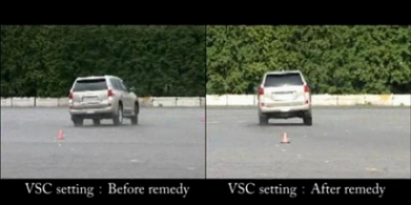 Lexus soluciona el problema del GX 460.