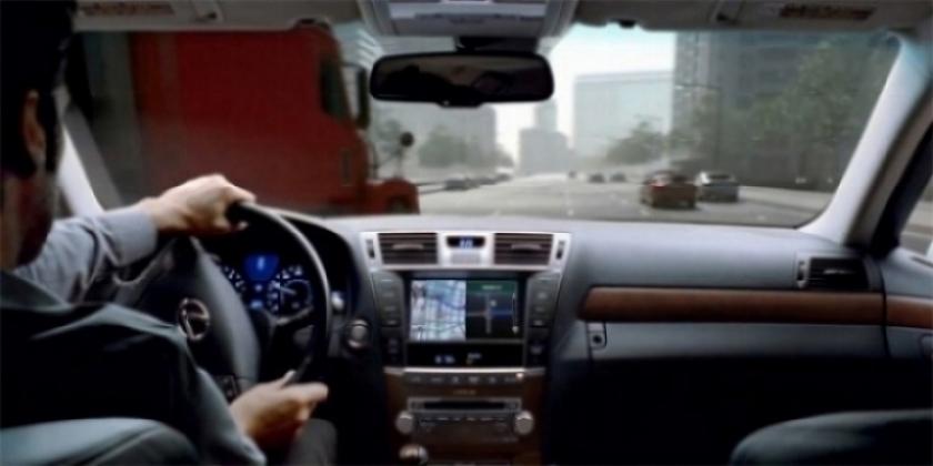 Lexus también cuenta son su propio simulador de conducción.