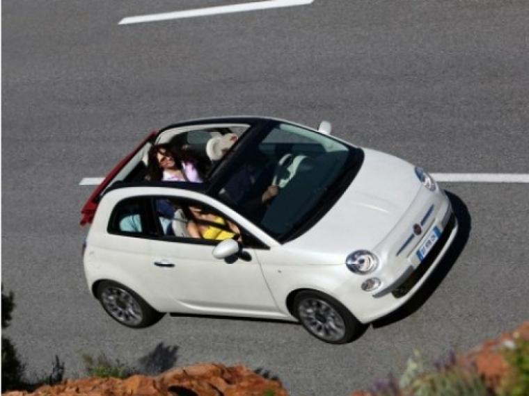 Llegó el Fiat 500C a Reino Unido