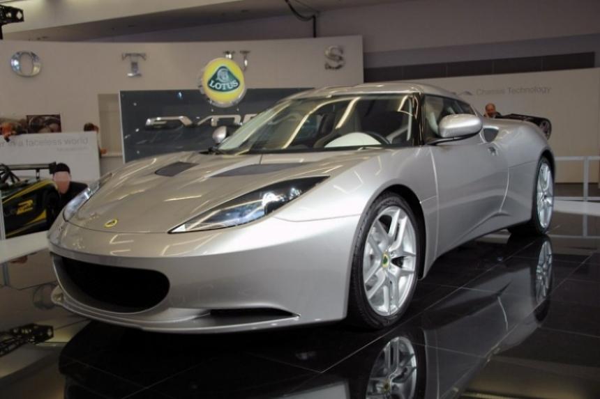 Lotus estaría ofreciendo a la venta la plataforma del Evora.