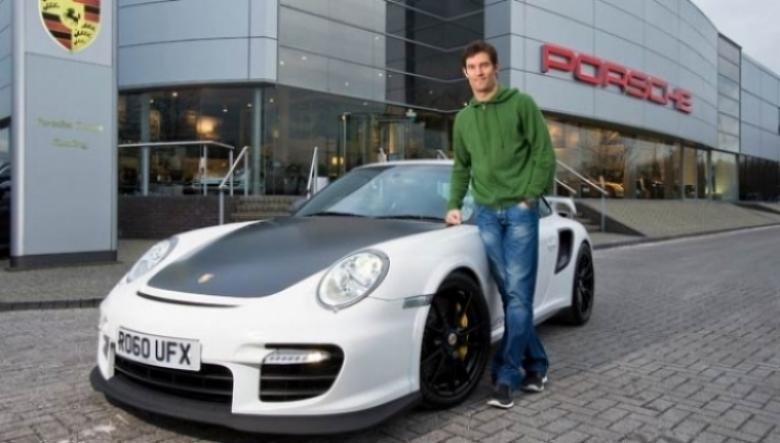 Mark Webber conduce el Porsche 911 GT2 RS en Silverstone