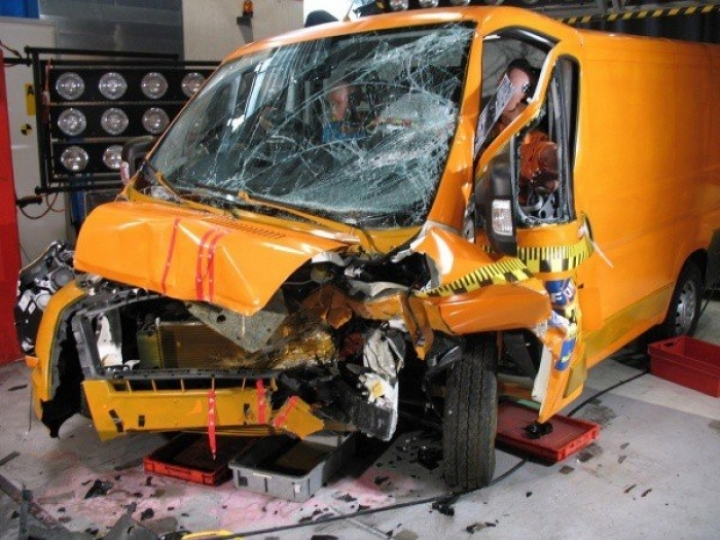 Más de 5.500 furgonetas se ven implicadas en accidentes de tráfico cada año