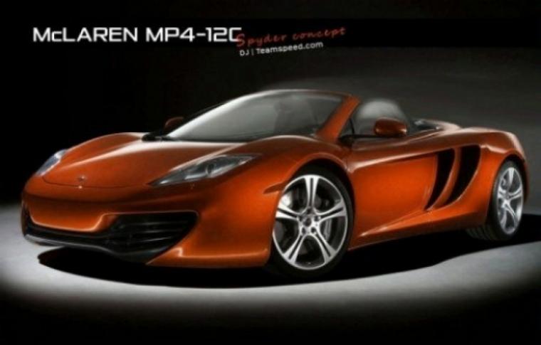 McLaren estaría trabajando en una versión spyder del MP4-12C